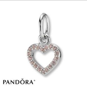 PANDORA Charm 💖 Valentine Sterling Silver